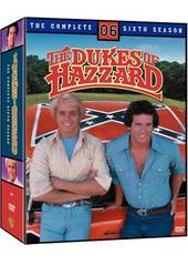 Dukes Of Hazzard, The - Complete Season 6 (4 Disc Set) on DVD
