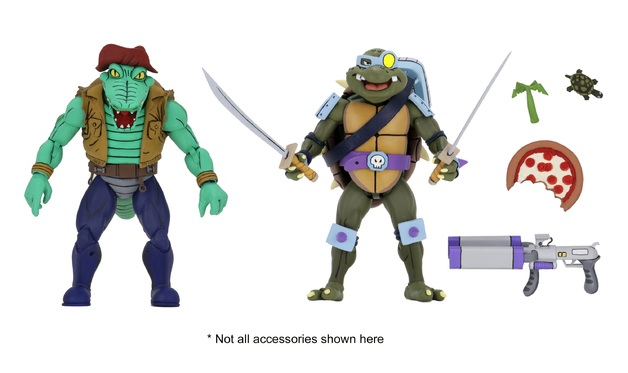 TMNT: Action Figure 2-Pack - Leatherhead & Slash