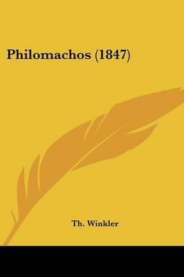 Philomachos (1847) by Th Winkler image