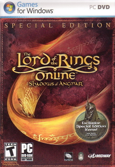 Lord of the Rings Online: Shadows of Angmar Special Edition for PC Games