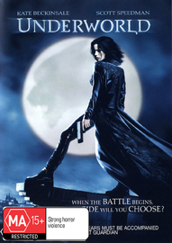 Underworld on DVD image