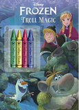 Frozen: Troll Magic Chunky Crayon Book by Courtney Carbone