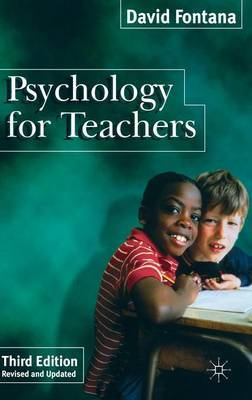 Psychology for Teachers by David Fontana image