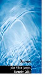 Oeuvres by John Milton