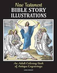 New Testament Bible Story Illustrations by Linda Wright image