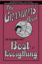 The Grandpas' Book: For the Grandpa Who's Best at Everything by John Gribble image