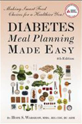 Diabetes Meal Planning Made Easy by Hope S. Warshaw image