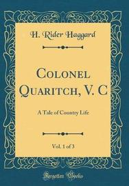 Colonel Quaritch, V. C, Vol. 1 of 3 by H.Rider Haggard image