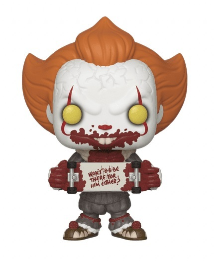 IT: Chapter 2 - Pennywise (with Skateboard) Pop! Vinyl Figure image