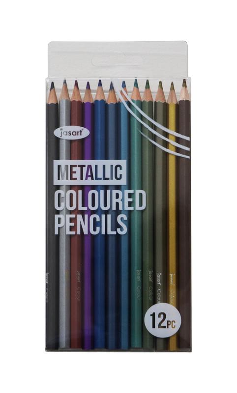 Jasart: Metallic Pencil - Set of 12
