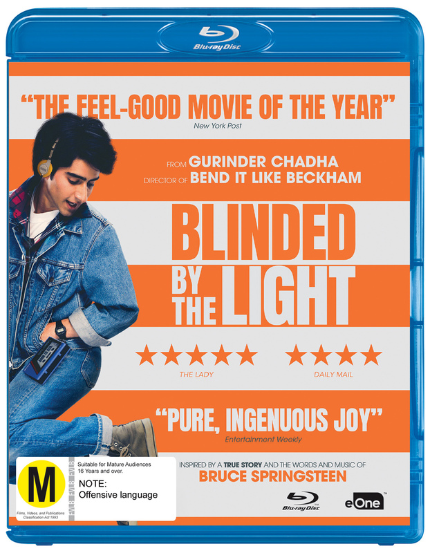 Blinded By The Light on Blu-ray