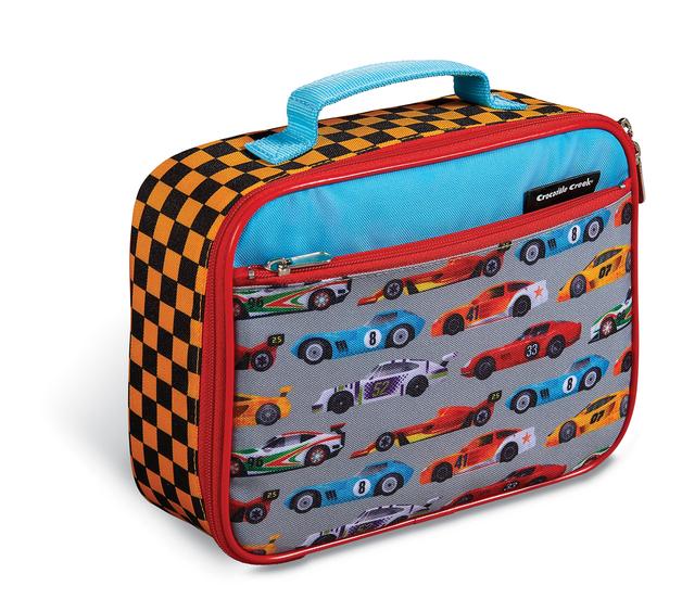 Crocodile Creek: Classic Lunch Bag - Race Car