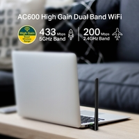 TP-Link AC600 High Gain Dual Band USB WiFi Adapter