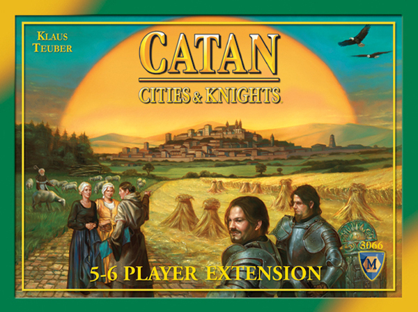 Cities & Knights of Catan expansion : 5-6 player