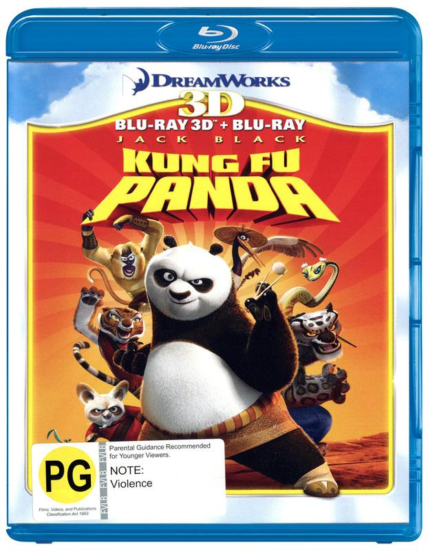 Kung Fu Panda - 3D Combo on Blu-ray, 3D Blu-ray