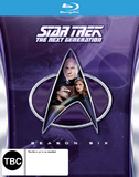 Star Trek: The Next Generation - Season 6 on Blu-ray
