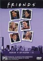Friends Series 4 Vol 1 on DVD