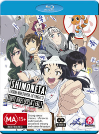 Shimoneta: A Boring World Where the Concept of Dirty Jokes Doesn't Exist - Complete Series on Blu-ray