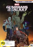 Guardians Of The Galaxy: The Origin of the Cosmic Seed on DVD