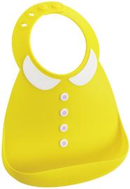 Make My Day: Silicon Baby Bib - Collar Yellow