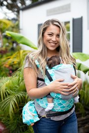 Baby Tula: Free to Grow Carrier - Syrena Sky