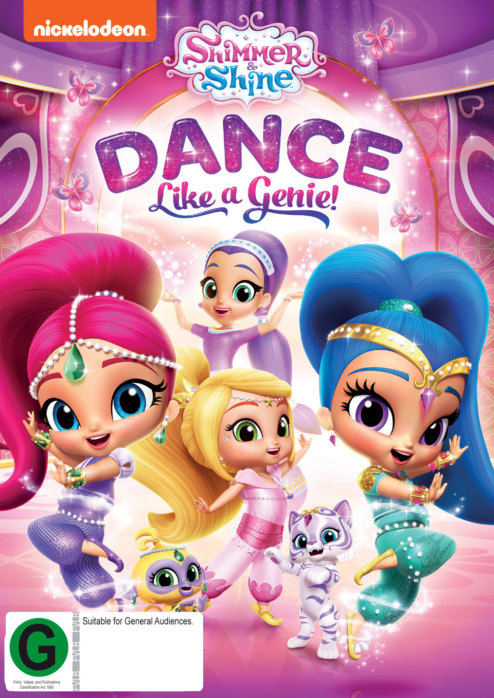 Shimmer And Shine: Dance Like A Genie on DVD image