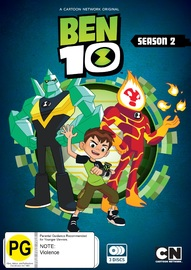 Ben 10: The Complete Season 2 on DVD