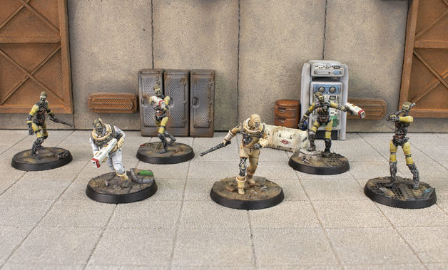 Fallout: Wasteland Warfare Institute Synths