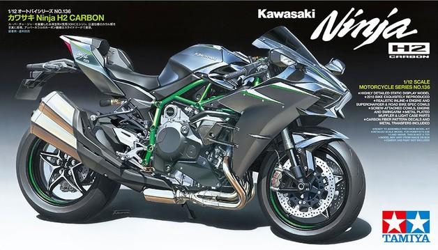 Tamiya 1/12 Kawasaki Ninja H2 Carbon - Model Kit