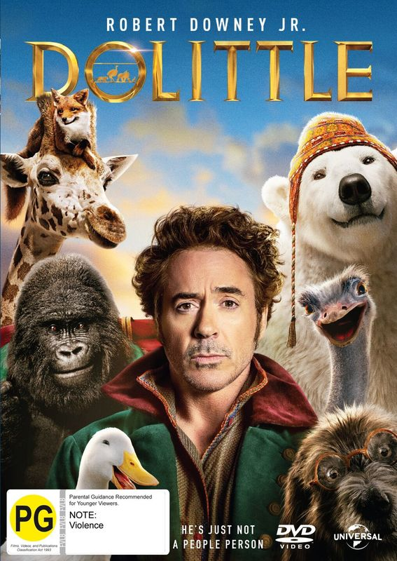 Dolittle on DVD