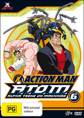 Action Man - A.T.O.M.: Alpha Teens On Machines - Vol. 6 on DVD