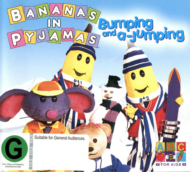 Bananas in Pyjamas - Bumping and a-Jumping on DVD