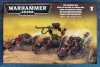 Warhammer 40,000 Ork Warbiker Mob