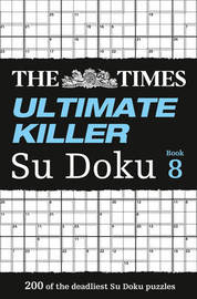 The Times Ultimate Killer Su Doku Book 8 by The Times Mind Games image