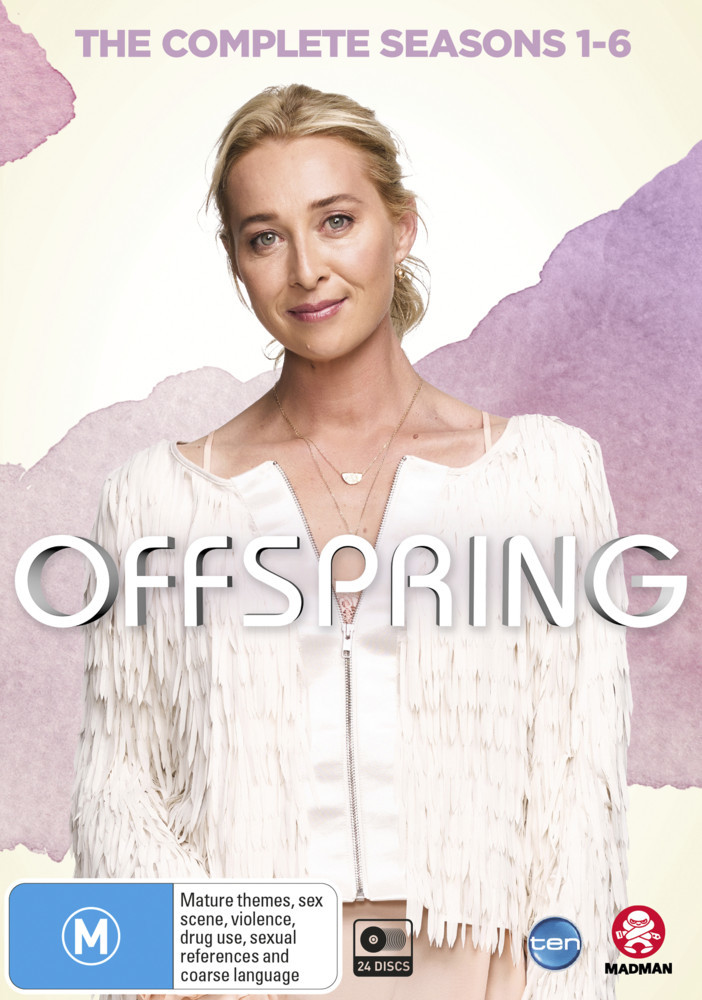Offspring - The Complete Seasons 1-6 (24 Disc Set) on DVD image
