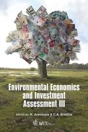 Environmental Economics and Investment Assessment: v. 3 image