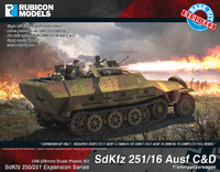 Rubicon 1/56 SdKfz 251/16 Ausf C/D Expansion Set
