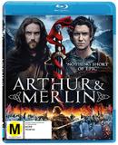Arthur and Merlin on Blu-ray