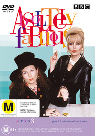 Absolutely Fabulous Series 3 on DVD image