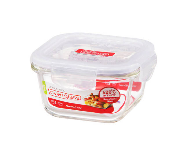 Lock n Lock Glass Euro Square Container