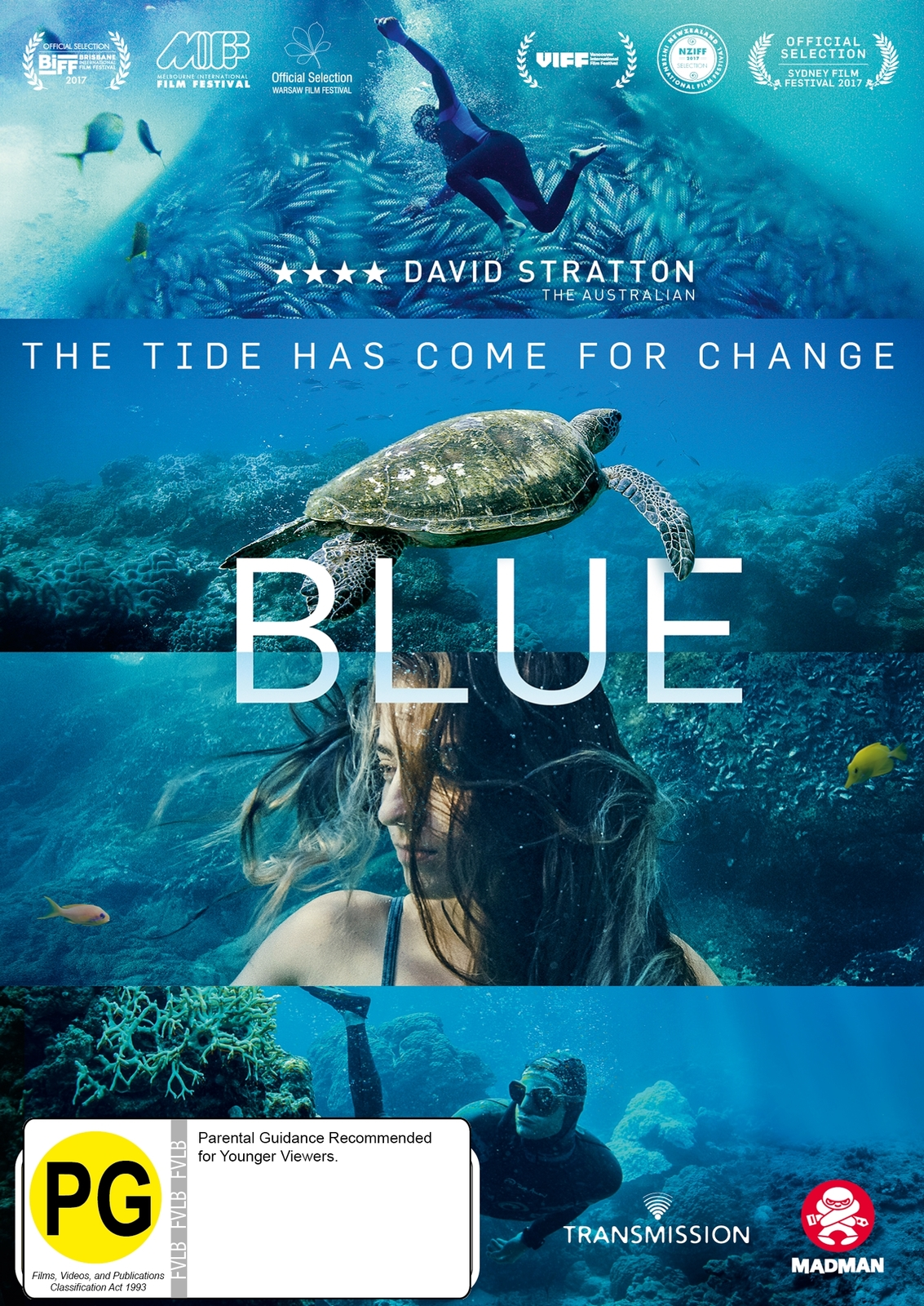 Blue on DVD image