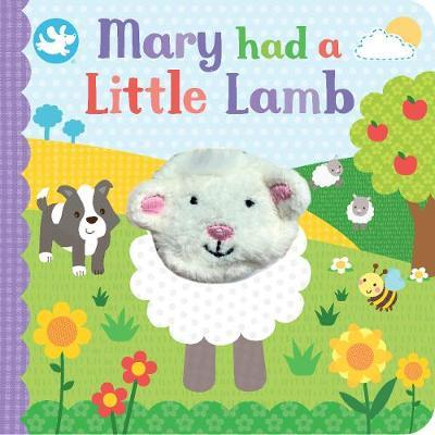 Little Learners Mary Had a Little Lamb Finger Puppet Book by Parragon Books Ltd