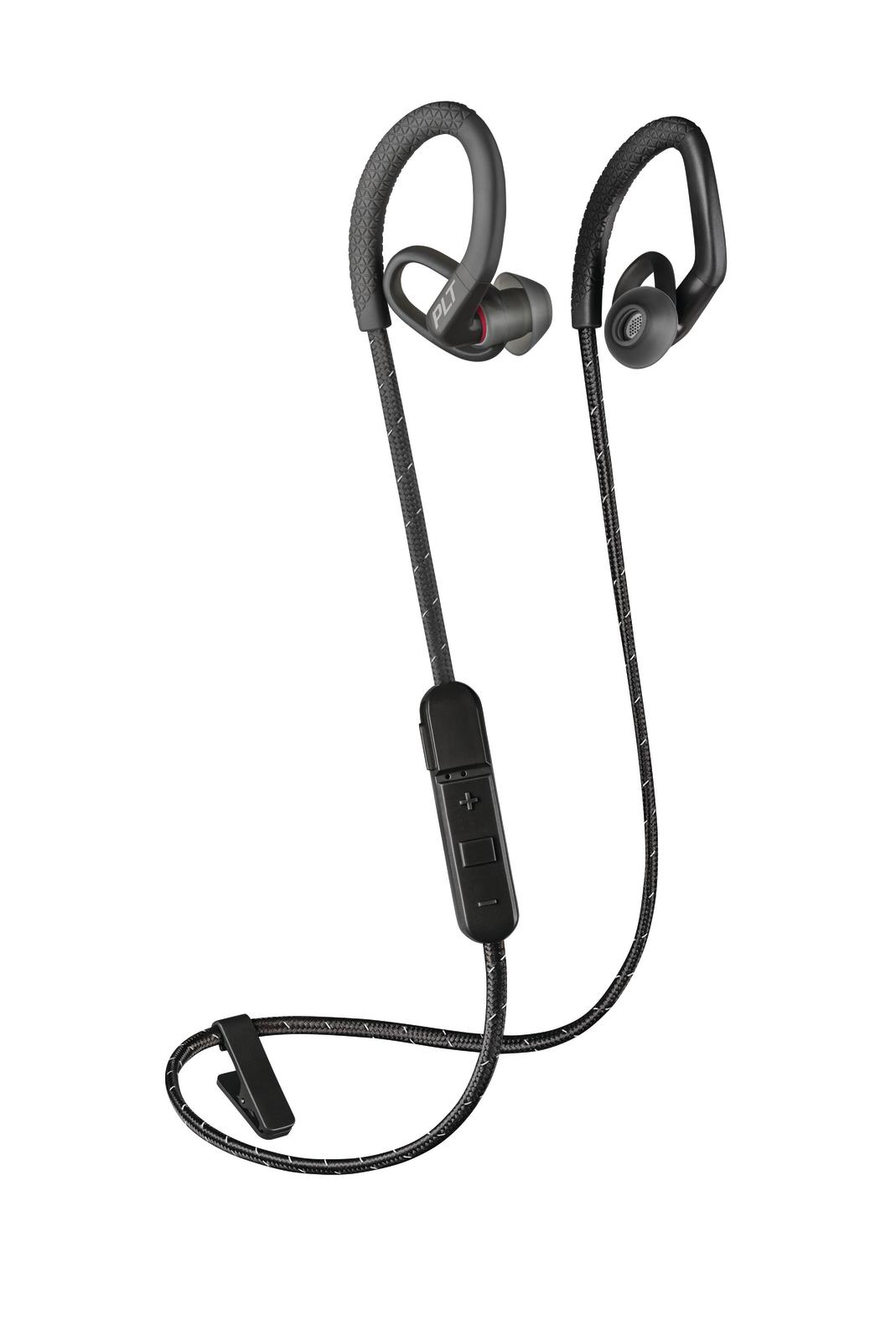 Plantronics: BackBeat Fit 350 Wireless Sports Earbuds - Black image