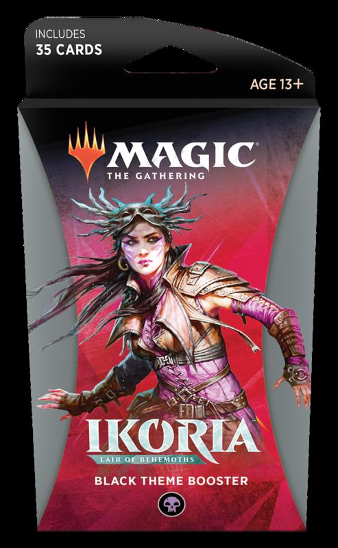 Magic the Gathering: Ikoria: Lair of Behemoths - Theme Booster Black