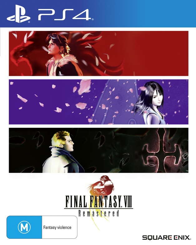 Final Fantasy VIII Remastered for PS4