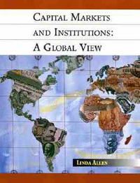 Capital Markets and Institutions by Linda Allen image