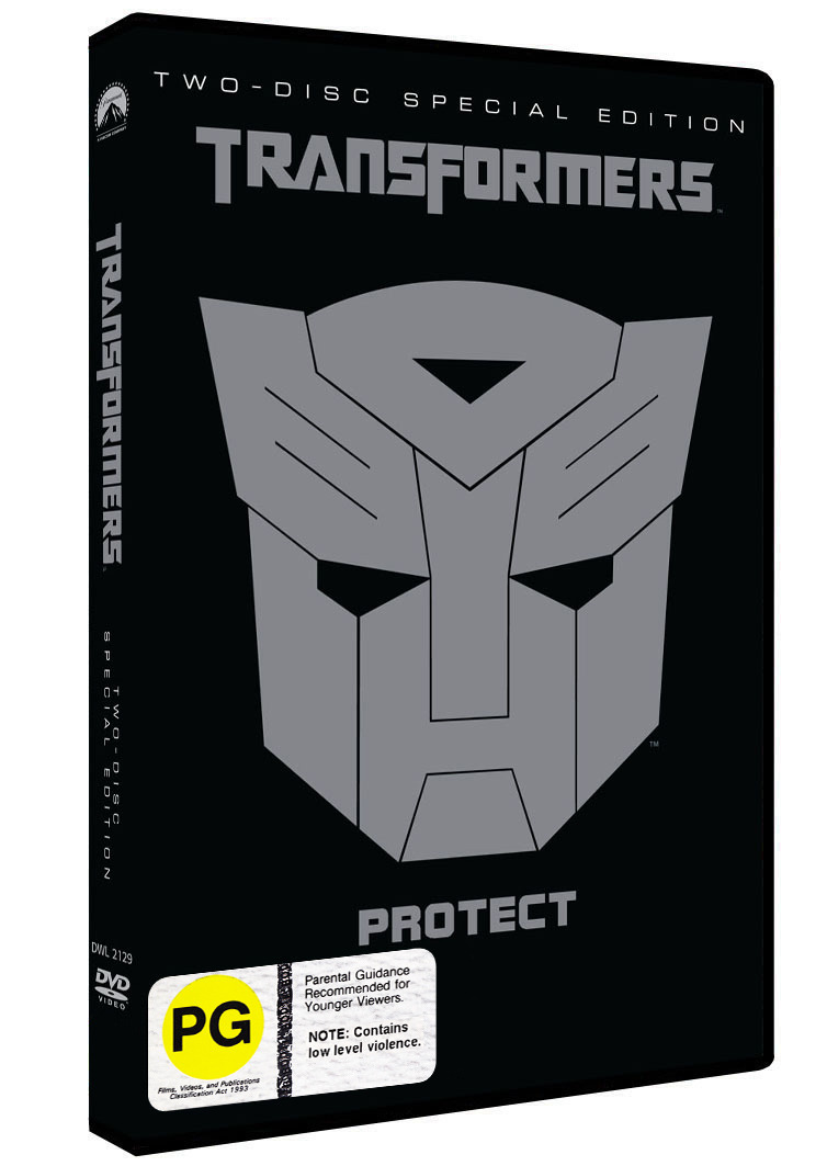 Transformers - Special Edition (2 Disc) on DVD image