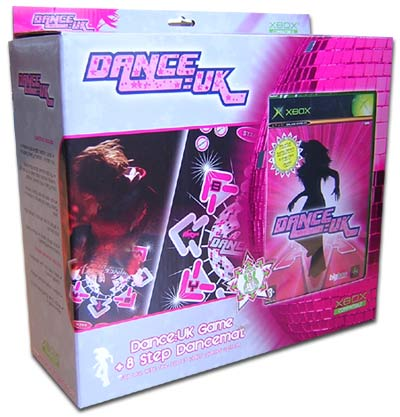 Dance: UK 8 Step Dance Mat for Xbox image
