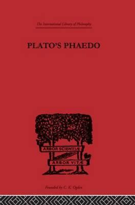 Plato's Phaedo by R.S. Bluck image