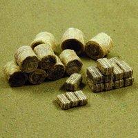 Hay Rolls & Bundles (HO Scale) 35 pack